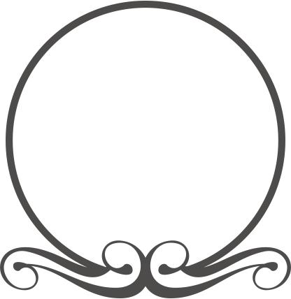 Sinete Monograma Arabesco Para Convites De Casamento